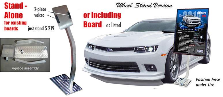 CAR SHOW BOARDS Auto Art Prints Reader Boards Signs Plaques - Custom car show signs